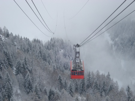 Main cable car - Courmayeur, Italy